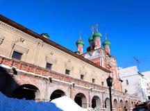Vysokopetrovsky Monastery in Moscow Stock Photos