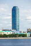 Vysotsky摩天大楼在叶卡捷琳堡 免版税库存照片