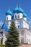 Vysotsky-Kloster in Serpukhov, Russland Lizenzfreie Stockbilder