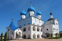 Vysotsky-Kloster in Serpukhov, Russland Lizenzfreies Stockfoto