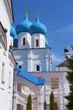 Vysotsky-Kloster in Serpukhov, Russland Orthodoxes Kloster Lizenzfreie Stockfotos