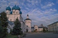 Vysotsky man klooster in Serpukhov, Rusland Royalty-vrije Stock Fotografie