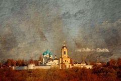 Vysotsky Monastery Stock Images