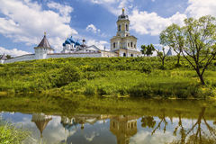 The Vysotsky monastery, Serpukhov, Moscow region Royalty Free Stock Photo