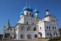 Vysotsky Monastery in Serpukhov Stock Photography