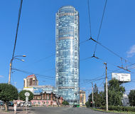 Vysotsky skyscraper in Yekaterinburg, Russia Stock Photos
