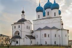 Vysotskyklooster, Serpukhov, Rusland Royalty-vrije Stock Foto's