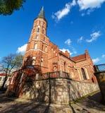 Vytatuass stora kyrka arkivfoton