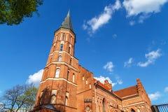 Vytatuass stora kyrka arkivfoto
