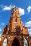 Vytatuass stora kyrka royaltyfri foto