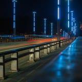 Vytautas伟大的桥梁在考纳斯 库存照片
