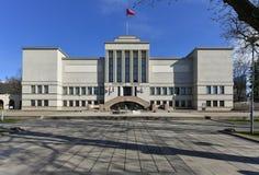 Vytautas большой музей Каунас Литва войны стоковая фотография rf