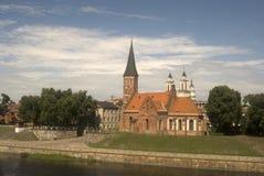 Vytautas Church, Kaunas, Lithuania. A nice church in the old town of Kaunas Royalty Free Stock Image