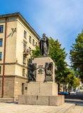 Vytautas the Great monument in Kaunas. Lithuania Royalty Free Stock Photography