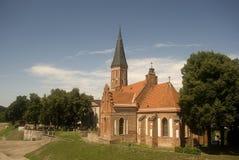vytautas kaunas Литвы церков Стоковое Изображение RF