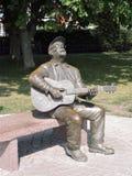 Vytautas Kernagis memorial sculpture, Lithuania Royalty Free Stock Image