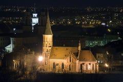 Vytautas la gran iglesia Imagenes de archivo