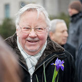 Vytautas Landsbergis Photos stock