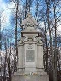 Vytautas le grand monument, Lithuanie Photographie stock libre de droits