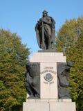 Vytautas statue , Lithuania Stock Image
