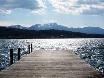 Wörthersee, un lago en Austria imagen de archivo libre de regalías