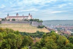 Würzburg Fortress Royalty Free Stock Photos