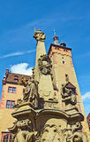 Würzburg Fountain Stock Images