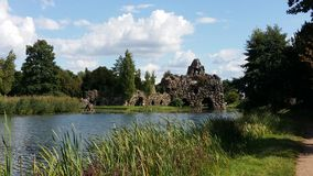 Wörlitzer park w Niemcy Zdjęcie Royalty Free