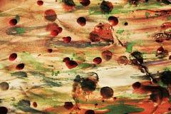 Wächserner abstrakter Hintergrund der Weinlesefarbe Stockfotos