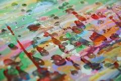Wächserner klarer Hintergrund in den klaren rosa bunten Farben Stockbilder