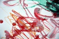 Wächserner rosaroter phosphoreszierender Farbenzusammenfassungshintergrund Lizenzfreie Stockfotos