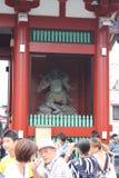 Wächter-Gottheit bei Senso-ji Stockbild