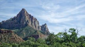 Wächter Mountain, Utah Stockbild
