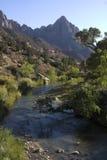 Wächter-Spur Zion im Nationalpark Lizenzfreies Stockfoto