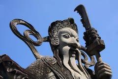 Wächter-Statue stockfotografie