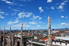 Wächter von Mailand Stockbild