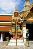 Wächterstatue in Wat PhraKaew Lizenzfreie Stockfotos