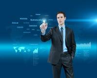 Wählen der Geschäftslösung Lizenzfreies Stockfoto