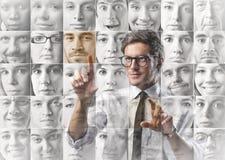 Wählen des Personals lizenzfreies stockfoto