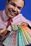 Wählen Sie eine Farbe Lizenzfreie Stockbilder