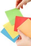 Wählen Sie eine Farbe Stockfotos