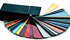 Wählen Sie Farbe für Auto vor Stockbilder