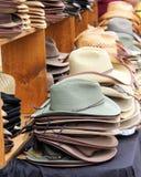 Wählen Sie Ihren Hut aus lizenzfreie stockfotos