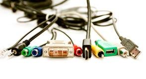 Wählverkehr der Adapter für den Computer Lizenzfreie Stockfotos