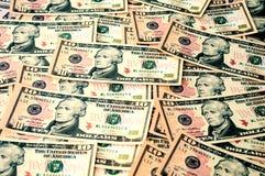 Währung auf dem Tisch Lizenzfreie Stockfotos
