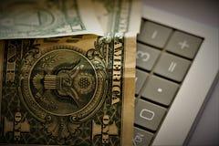Währung der Vereinigten Staaten von Amerika stockfotografie