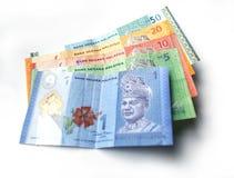 Währung des malaysischen Ringgit Lizenzfreie Stockfotos
