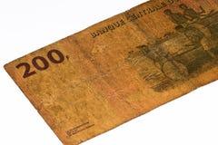 Währungsbanknote von Afrika Stockfotografie