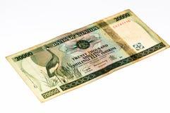 Währungsbanknote von Afrika Lizenzfreies Stockbild