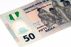 Währungsbanknote von Afrika Lizenzfreie Stockbilder